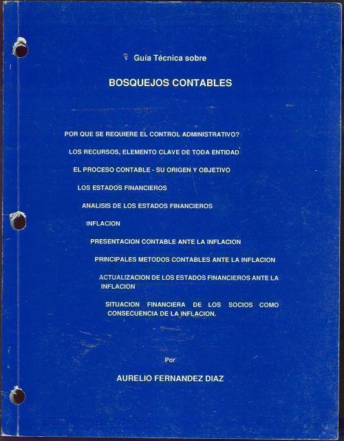 Image for GUIA TECNICA SOBRE BOSQUEJOS CONTABLES