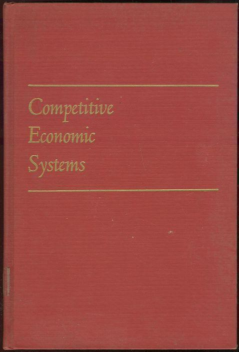 Image for COMPETITIVE ECONOMIC SYSTEMS