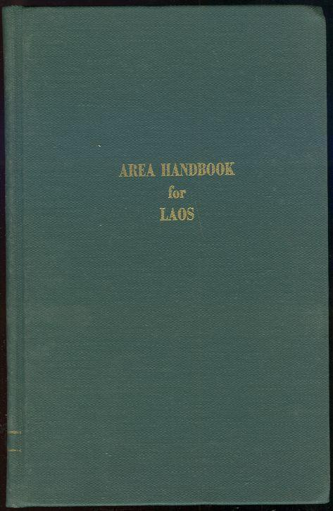 Image for AREA HANDBOOK FOR LAOS