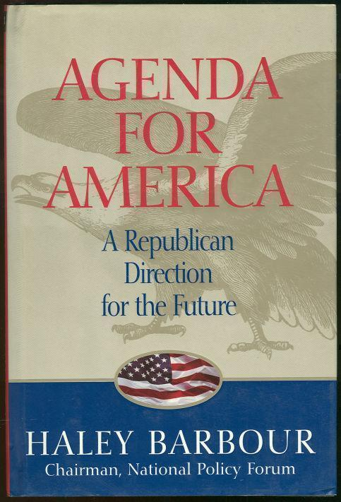 Image for AGENDA FOR AMERICA A Republican Direction for the Future