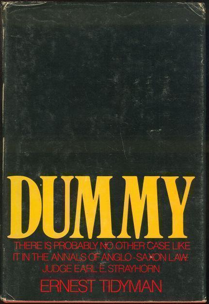 DUMMY, Tidyman, Ernest