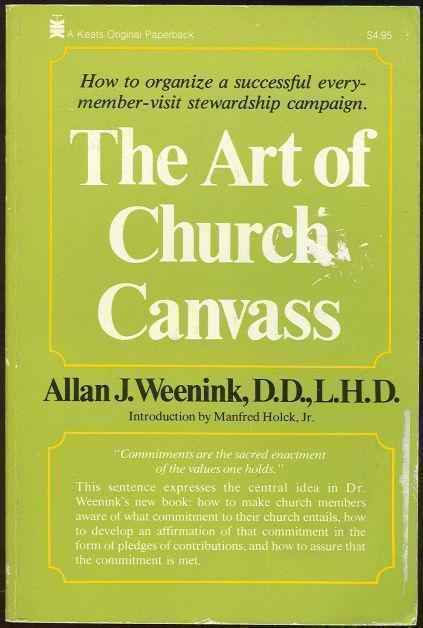 ART OF CHURCH CANVASS, Weenink, Allan