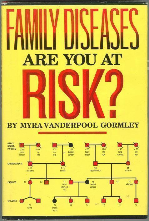 FAMILY DISEASES ARE YOU AT RISK? :, Gormley, Myra Vanderpool