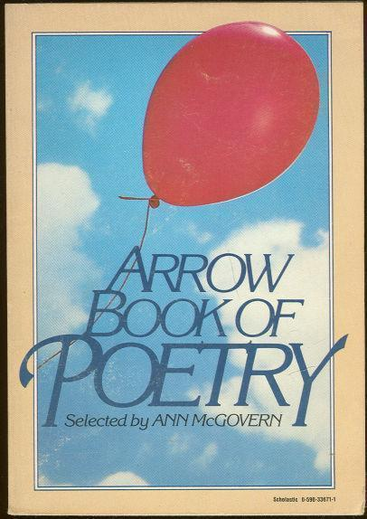 ARROW BOOK OF POETRY, McGovern, Ann editor