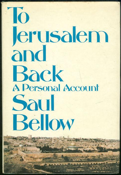 Image for TO JERUSALEM AND BACK A Personal Account