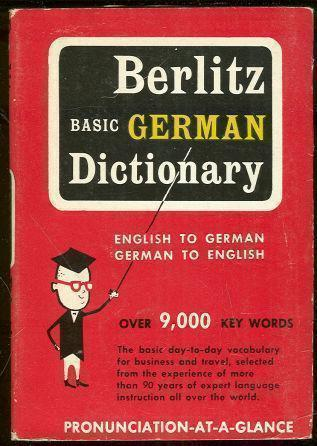 BERLITZ BASIC GERMAN DICTIONARY, Berlitz