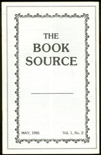 Image for BOOK SOURCE MONTHLY MAGAZINE MAY 1985