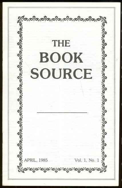 Image for BOOK SOURCE MONTHLY MAGAZINE APRIL 1985
