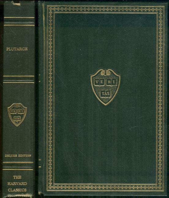 PLUTARCH'S LIVES Of Themistocles, Pericles, Aristides, Alcibiades and Coriolanus, Demosthenes and Cicero, Caesar and Anthony, Eliot, Charles editor