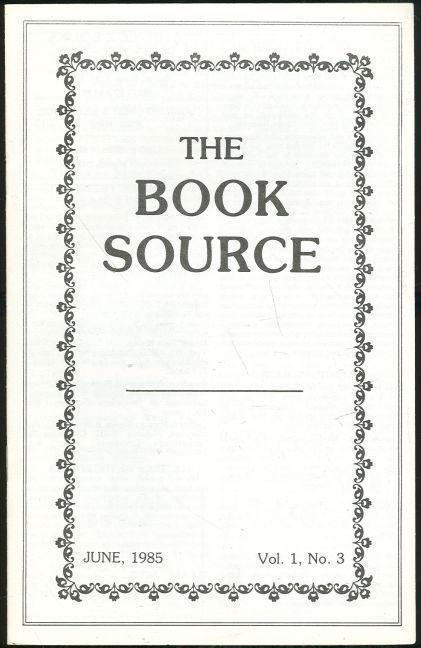 Image for BOOK SOURCE MONTHLY MAGAZINE JUNE 1985