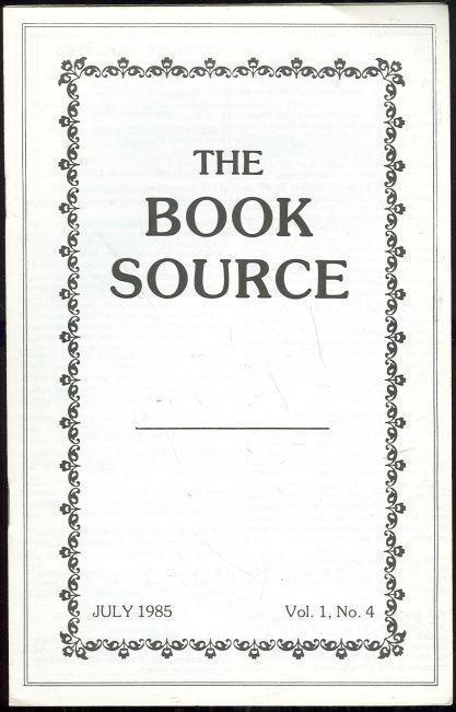 Image for BOOK SOURCE MONTHLY MAGAZINE JULY 1985