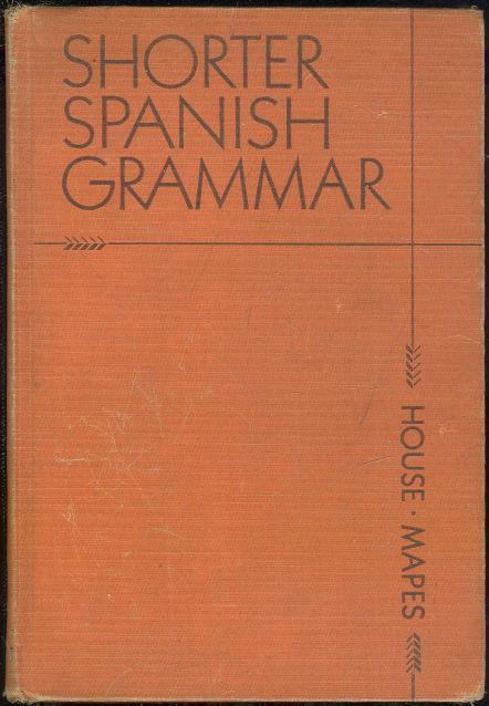 Image for SHORTER SPANISH GRAMMAR
