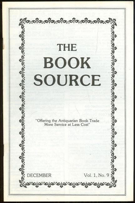 Image for BOOK SOURCE MONTHLY MAGAZINE DECEMBER 1985