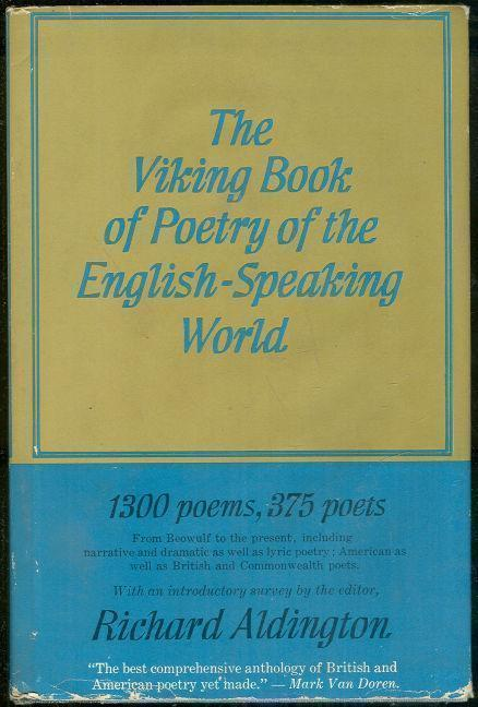 Image for VIKING BOOK OF POETRY OF THE ENGLISH SPEAKING WORLD VOL II