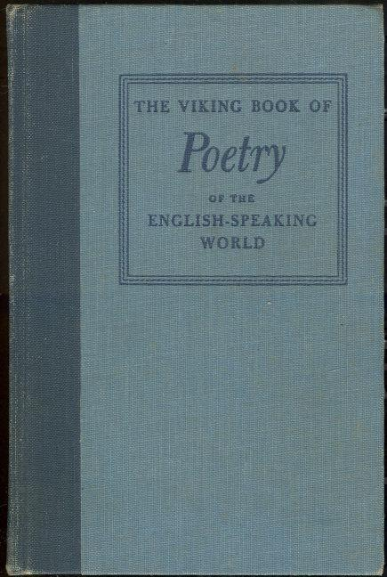 Image for VIKING BOOK OF POETRY OF THE ENGLISH SPEAKING WORLD VOLUME II