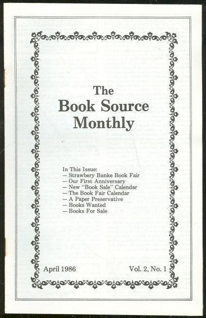 Image for BOOK SOURCE MONTHLY MAGAZINE APRIL 1986