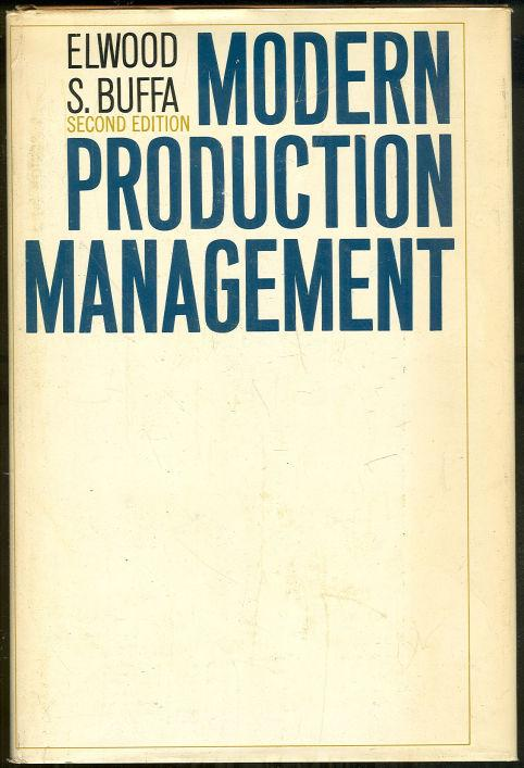 Image for MODERN PRODUCTION MANAGEMENT