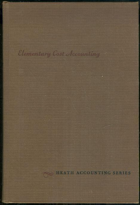 Image for ELEMENTARY COST ACCOUNTING