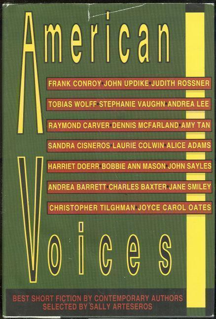 AMERICAN VOICES Best Short Fiction by Contemporary Authors, Arteseros, Sally editor