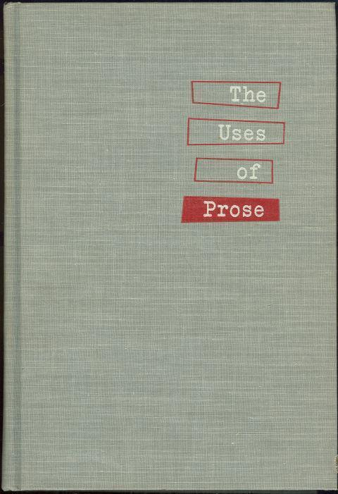 USES OF PROSE, Earnest, Ernest
