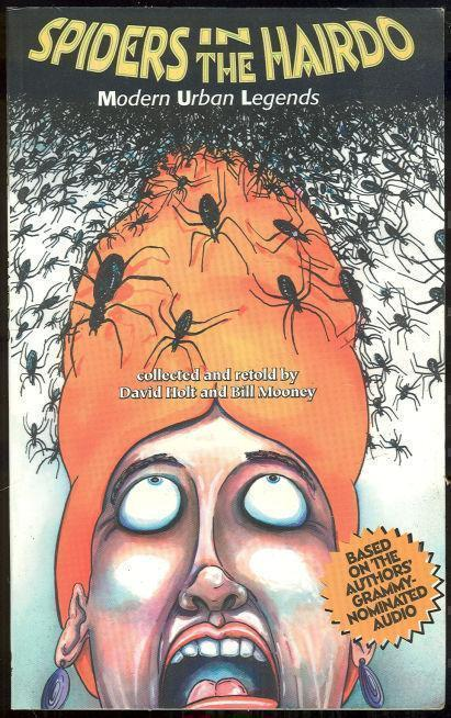 Image for SPIDERS IN THE HAIRDO Modern Urban Legends