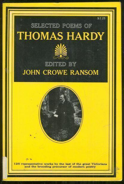 SELECTED POEMS OF THOMAS HARDY, Hardy, Thomas