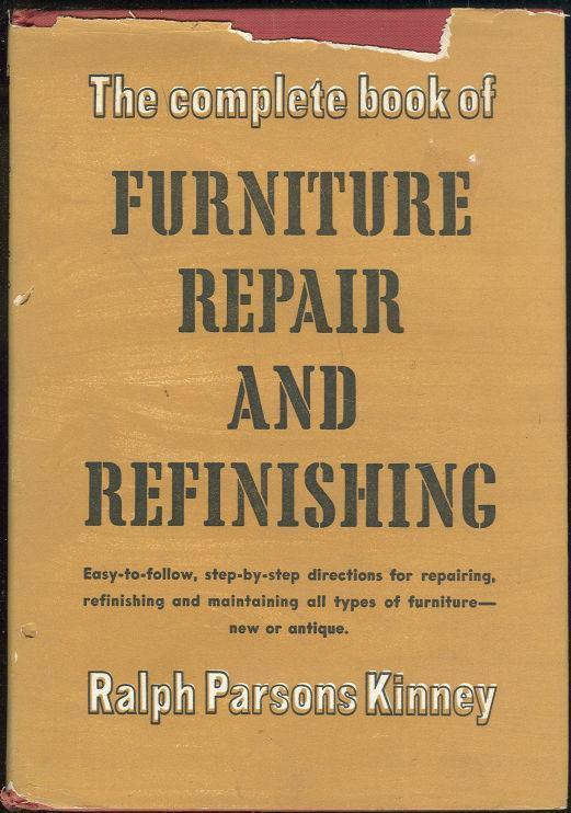 Image for COMPLETE BOOK OF FURNITURE REPAIR AND REFINISHING