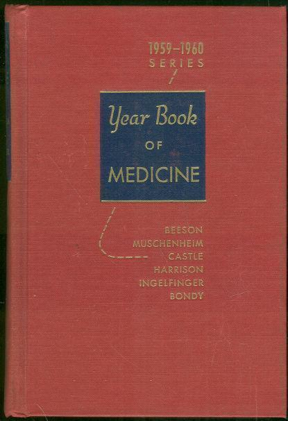 Image for YEAR BOOK OF MEDICINE 1959-1960 SERIES