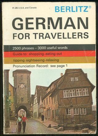 GERMAN FOR TRAVELLERS, Berlitz