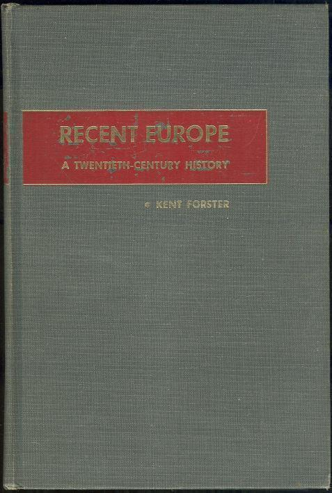 Image for RECENT EUROPE A Twentieth-Century History