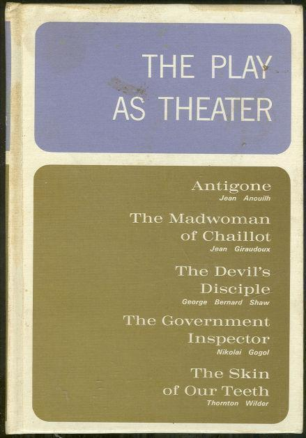 Image for PLAY AS THEATER