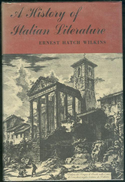 Image for HISTORY OF ITALIAN LITERATURE