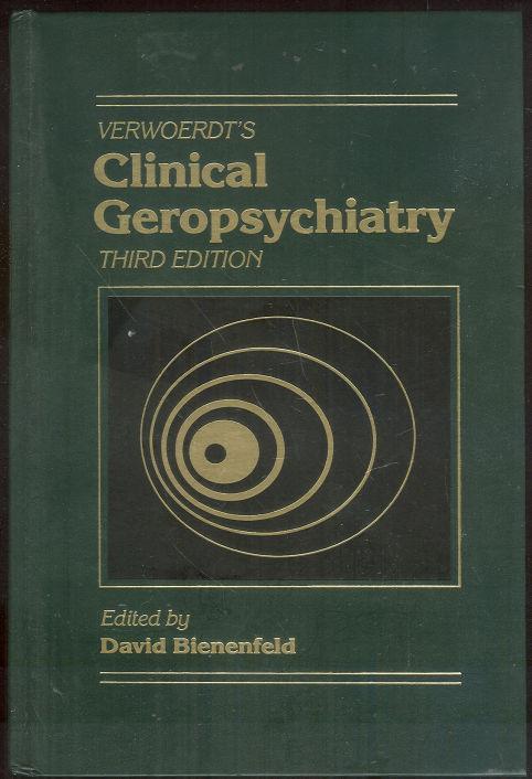 VERWOERDT'S CLINICAL GEROPSYCHIATRY, Blenenfeld, David editor