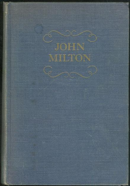 POEMS OF JOHN MILTON, Hanford, James Holly editor