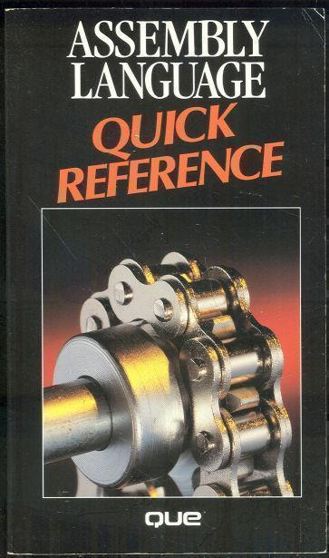 ASSEMBLY LANGUAGE QUICK REFERENCE, Wyatt, Allen