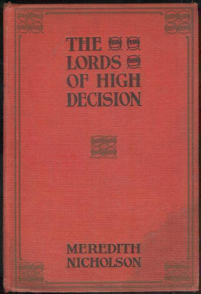LORDS OF HIGH DECISION, Nicholson, Meredith