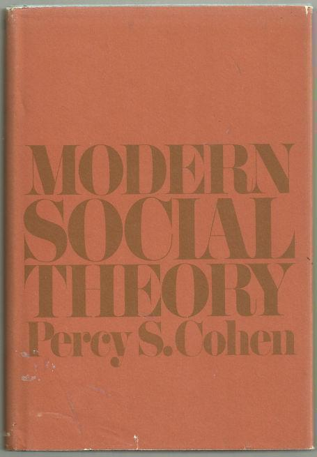 Image for MODERN SOCIAL THEORY