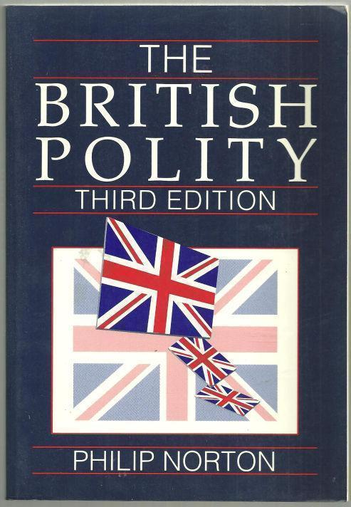 BRITISH POLITY, Norton, Philip