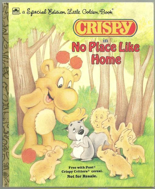 Image for CRISPY IN NO PLACE LIKE HOME