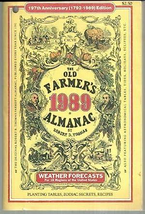 OLD FARMER'S ALMANAC 1989 Weather Forecasts, Planting: Thomas, Robert