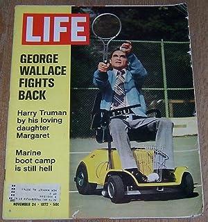 LIFE MAGAZINE NOVEMBER 24, 1972: Wallace, George (