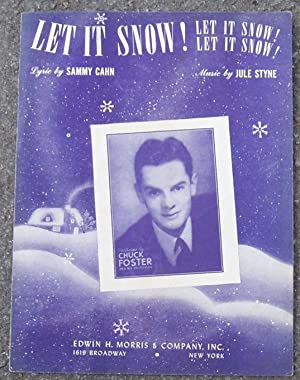 LET IT SNOW! LET IT SNOW! LET: Sheet Music