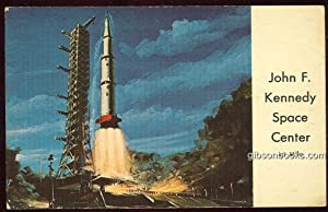 ARTIST'S CONCEPTION OF THE LAUNCHING OF SATURN: Postcard