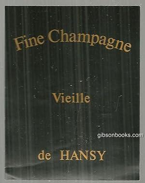 VINTAGE LABEL FOR FINE CHAMPAGNE VIEILLE DE: Advertisement