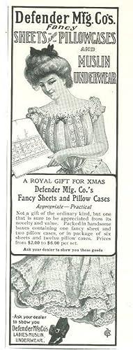 1901 LADIES HOME JOURNAL DEFENDER MFG. CO'S: Advertisement