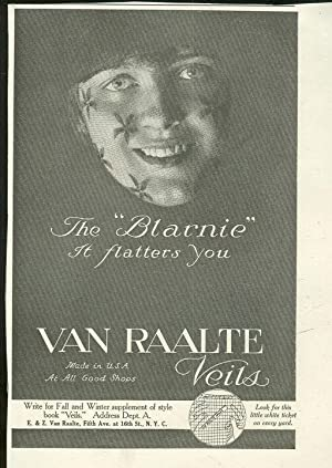 1916 LADIES HOME JOURNAL VAN RAALTE VEILS: Advertisement