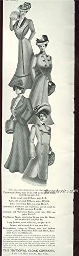 1901 LADIES HOME JOURNAL NATIONAL CLOAK COMPANY: Advertisement