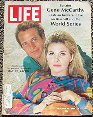 LIFE MAGAZINE OCTOBER 18, 1968: Newman, Paul and