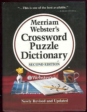 MERRIAM-WEBSTER'S CROSSWORD PUZZLE DICTIONARY: Merriam-Webster