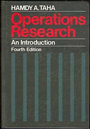 OPERATIONS RESEARCH An Introduction: Taha, Hamdy